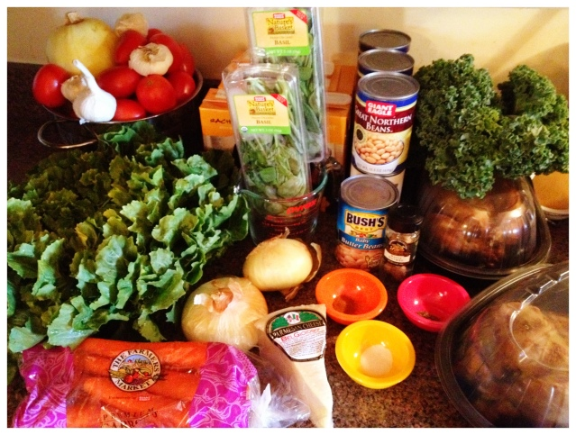 Fresh Ingredients for Soup